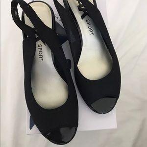 784687a15dfa Anne Klein Shoes - AK Sport Women s Jayla Fabric Wedge Pump
